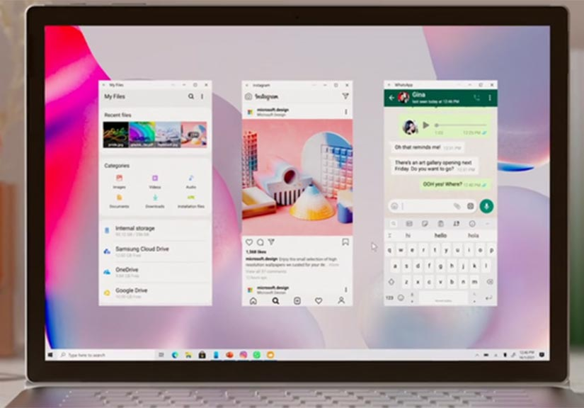 Microsoft ra mắt video đầy tính nghệ thuật, cho thấy cách các ứng dụng Android chạy trên Windows 10 như thế nào