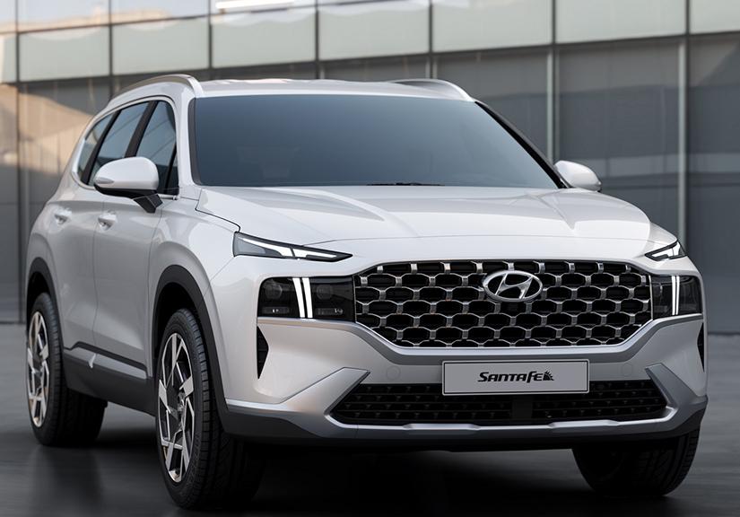 Rộ tin Hyundai SantaFe thế hệ mới sắp ra mắt