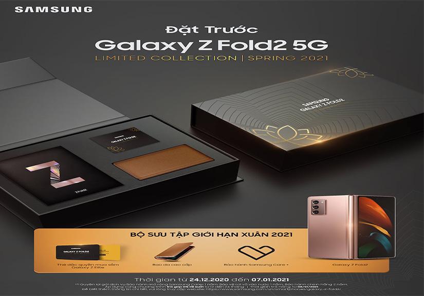 Samsung mở đặt trước Galaxy Z Fold2 phiên bản giới hạn Xuân 2021