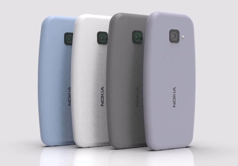"""Sẽ ra sao nếu """"huyền thoại"""" Nokia 3310 được ra mắt ở năm 2021: Màn hình tràn viền, camera """"thò thụt"""", tích hợp máy quét vân tay...?"""