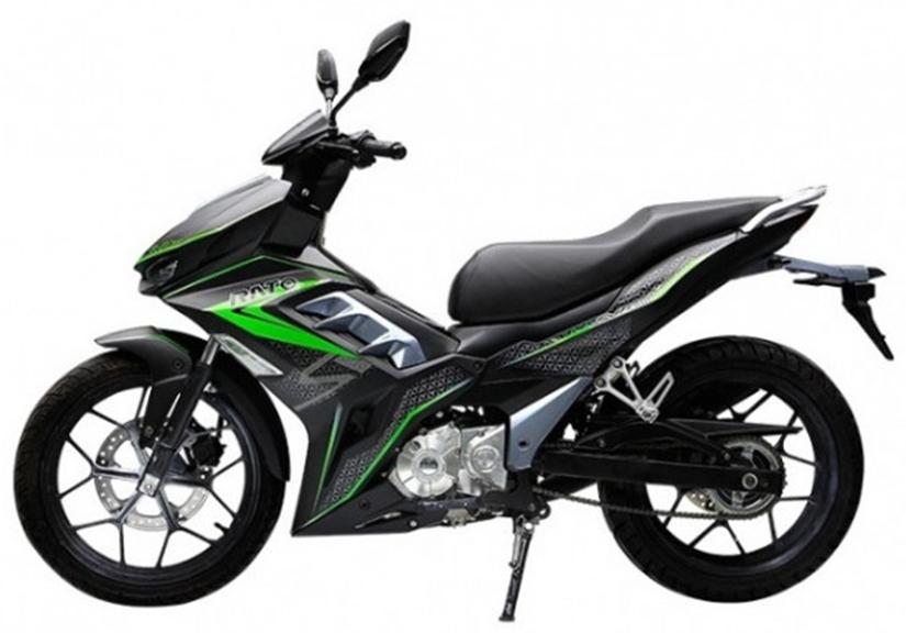 Xe côn tay Trung Quốc Rato SVR180 ra mắt, thiết kế giống Honda Winner X