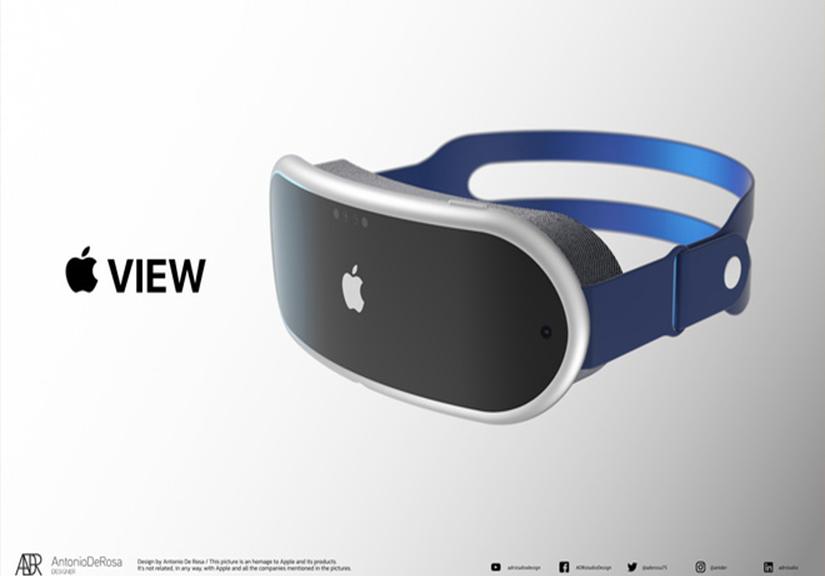 Đây là kính thực tế của Apple: Thiết kế dạng mô-đun như AirPods Max, 2 màn hình 8K, công nghệ theo dõi chuyển động mắt...