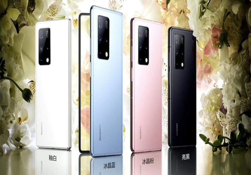 """Huawei Mate X2 ra mắt: """"Bắt chước"""" thiết kế của Z Fold2 nhưng giá còn cao hơn"""