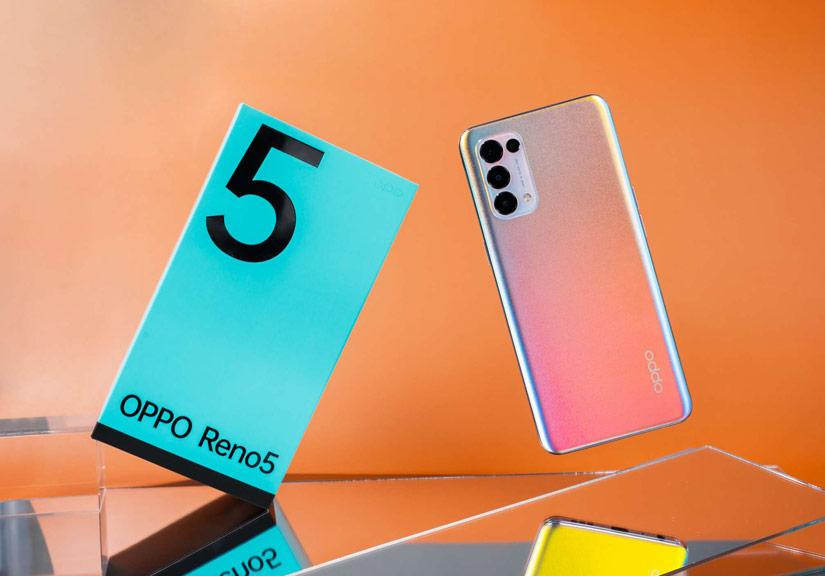 OPPO Reno5 là smartphone bán chạy nhất thị trường Việt Nam tháng 1/2021
