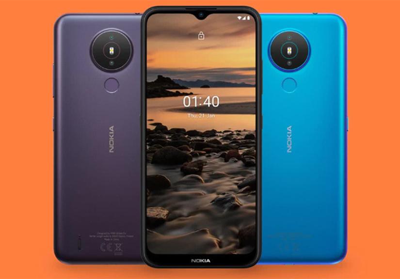 Smartphone giá rẻ Nokia 1.4 chính thức ra mắt: Có camera kép, pin 4.000 mAh, giá 120 USD