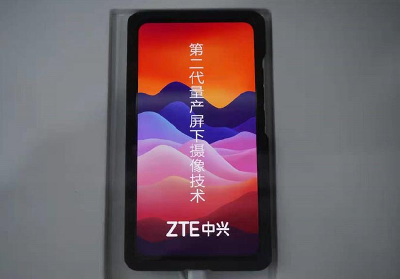 ZTE đang phát triển công nghệ camera ẩn dưới màn hình thế hệ 2, tích hợp cảm biến quét khuôn mặt 3D
