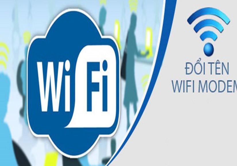 Hướng dẫn đổi tên modem Wifi