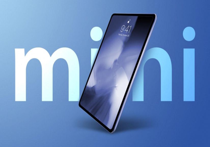 Apple sẽ ra mắt iPad Mini Pro 8.9 inch, có FaceID, chip A14 Bionic