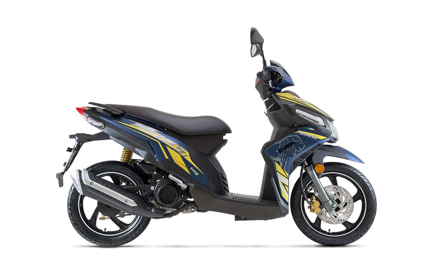Benelli VZ125i cạnh tranh Honda Air Blade 125, Honda Vision nếu về Việt Nam