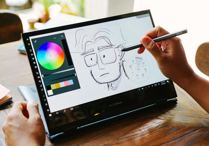 Đánh giá ZenBook Flip 13 UX363: Laptop đa dụng cho vân văn phòng, linh hoạt, pin trâu, màn hình OLED là điểm sáng