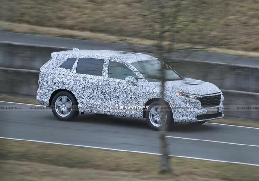 Honda CR-V 2023 sắp trình làng, thiết kế lột xác hứa hẹn 'soán ngôi' Mazda CX-5, Hyundai Tucson