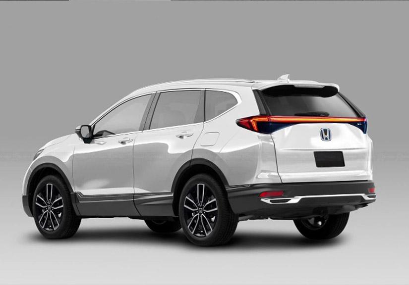Honda CR-V thế hệ mới lộ diện: Ngoại hình 'ganh' Toyota Fortuner cực gắt