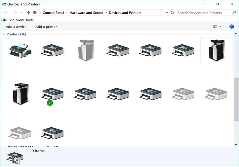 Kết nối máy in qua mạng LAN máy tính Window