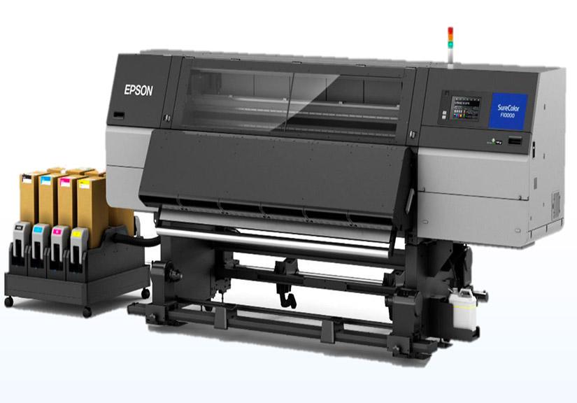 Lần đầu xuất hiện máy in chuyển nhiệt khổ 76-inch thế hệ mới