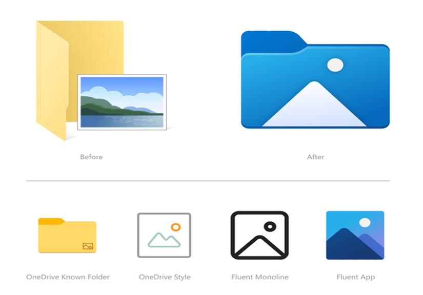 Windows 10 cập nhật các icon File Explorer mới, bắt đầu một cuộc đại tu thiết kế