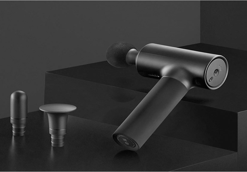 Xiaomi ra mắt súng massage MIJIA Faschia: Động cơ mạnh mẽ, độ ồn thấp, pin trâu, 3 đầu massage, giá 77 USD