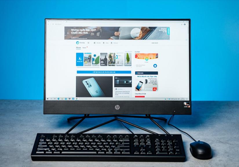 HP 205 Pro G4 AiO Non-Touch : Máy tính AMD liền màn hình chi phí hợp lý cho doanh nghiệp