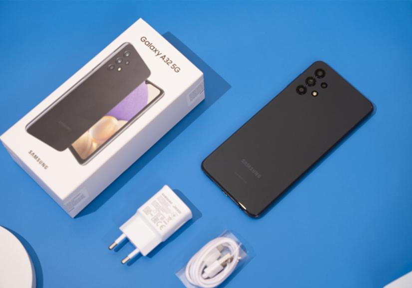 Trên tay Galaxy A32 5G: Smartphone mạng 5G rẻ nhất của Samsung
