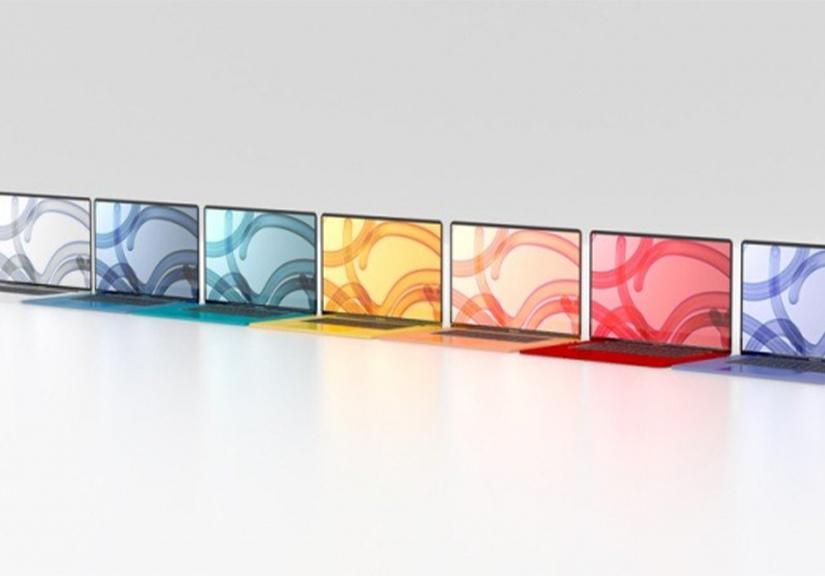 Macbook Air 2021 sẽ có đến 7 màu rực rỡ
