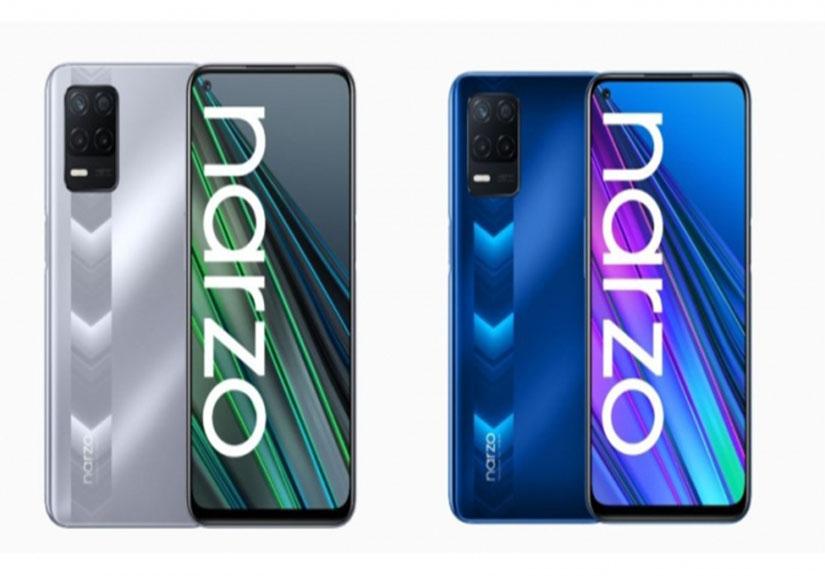 Realme Narzo 30 5G ra mắt: Màn hình 90Hz, CPU Dimensity 700 giá 5.3 triệu