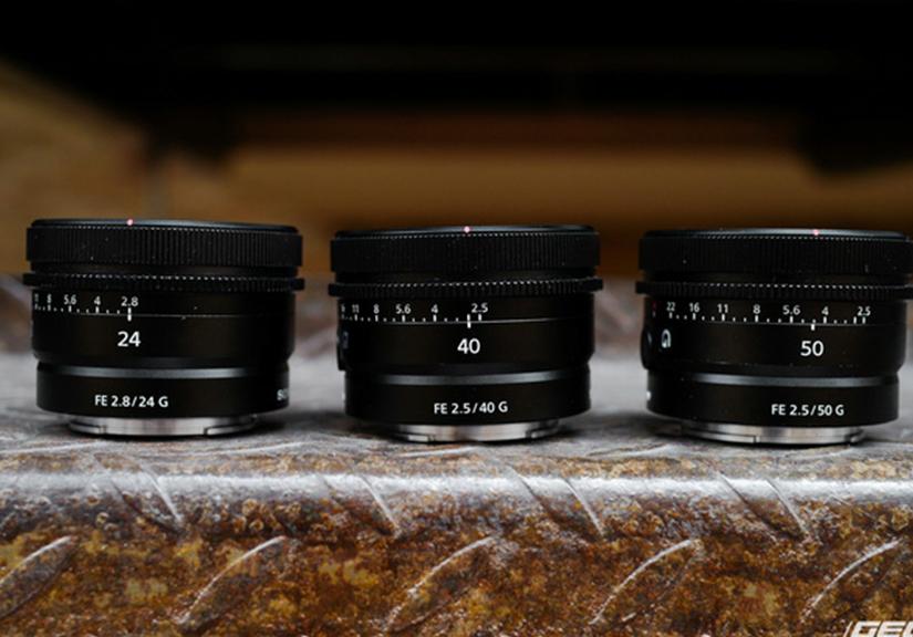 Trải nghiệm nhanh bộ 3 ống kính Sony FE G series vừa ra mắt: Gọn, nhẹ, lấy nét cực êm, đồng giá 14,99 triệu đồng