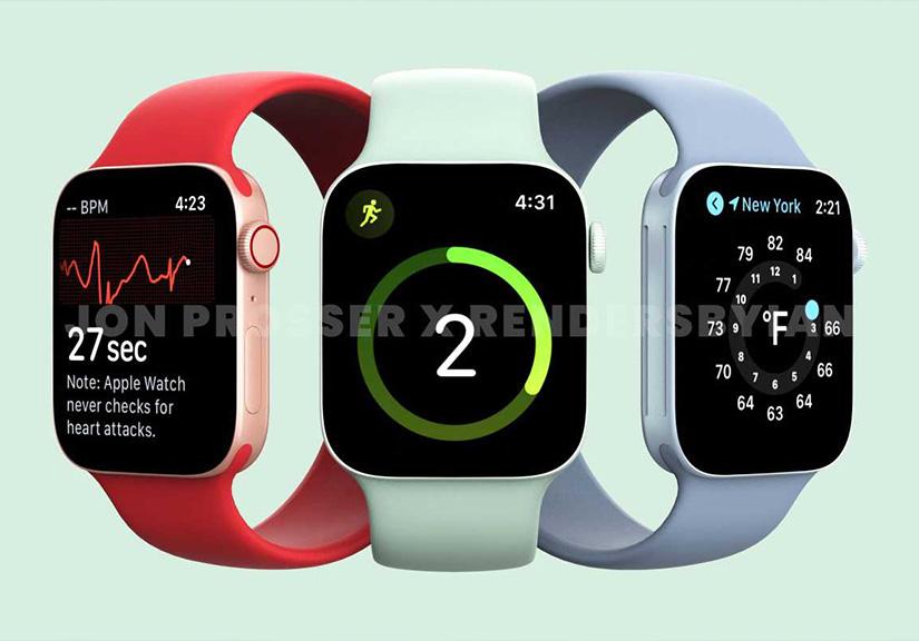 Apple Watch 7 nâng cấp màn hình, không có thêm tính năng sức khỏe mới