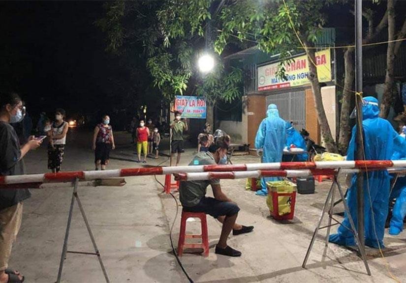Nghệ An: Phong tỏa khu dân cư, lấy mẫu hơn 5000 người để điều tra các ca bệnh chưa rõ nguồn lây