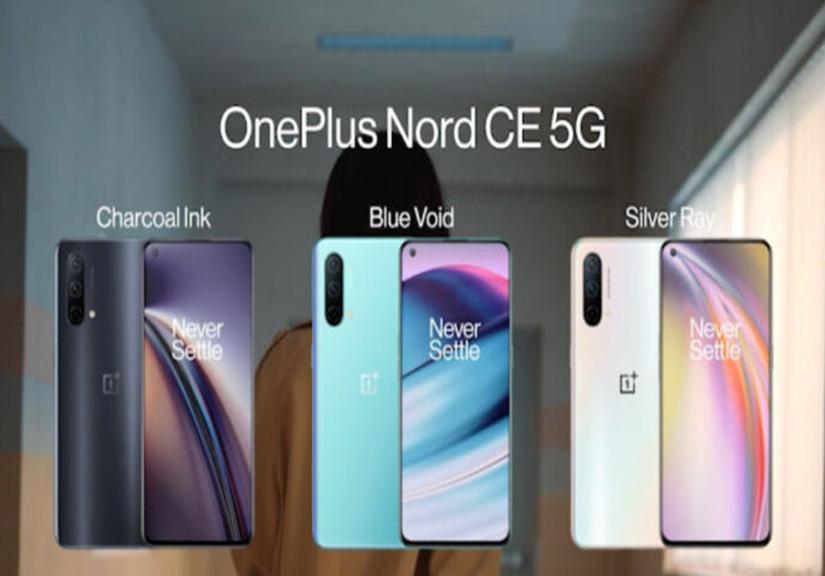 OnePlus Nord CE 5G trình làng với chip chuyên game, màn hình 90 Hz và RAM tối đa 12GB