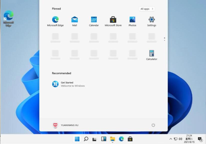 Windows 11 ISO bị rò rỉ: Giao diện có nhiều thay đổi đáng chú ý