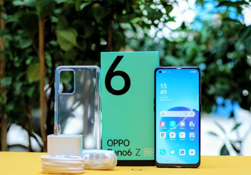 Đánh giá chi tiết Oppo Reno6 Z: Thiết kế tối giản, hiệu năng tốt trong tầm giá 10 triệu