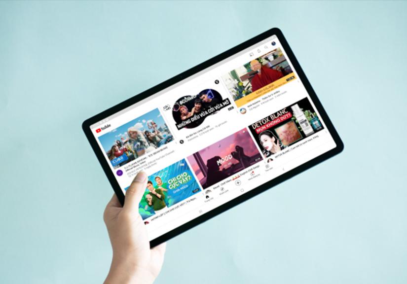 """Trải nghiệm Galaxy Tab S7 FE: Chiếc tablet 12.4 inch chuẩn """"cinema"""" cùng bút S Pen đầy """"ma thuật"""""""