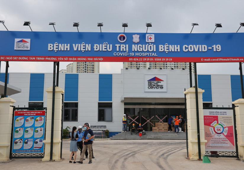 Bệnh viện điều trị COVID-19 quy mô 500 giường tại Hà Nội chính thức đi vào hoạt động
