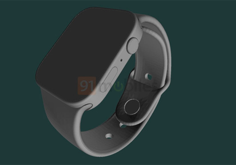 Đây là Apple Watch Series 7: Cạnh phẳng, viền mỏng, màn hình lớn hơn