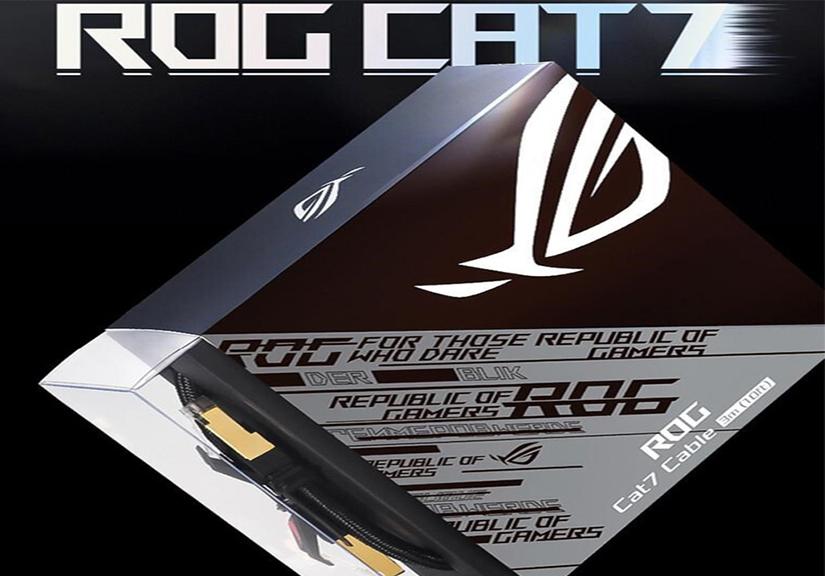 Asus ra mắt cáp mạng ROG: 500.000 đồng cho 1.5m