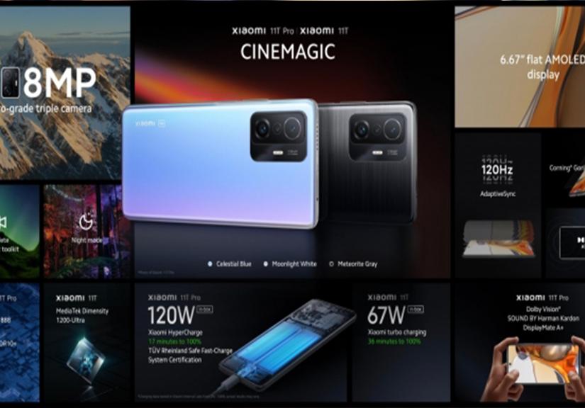 Xiaomi 11T và 11T Pro ra mắt: Phần cứng mạnh mẽ, camera tốt, chưa đủ để đối đầu iPhone 13