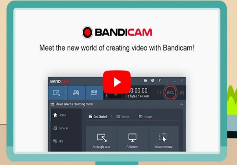Hướng dẫn cài đặt Bandicam - phần mềm quay video màn hình máy tính